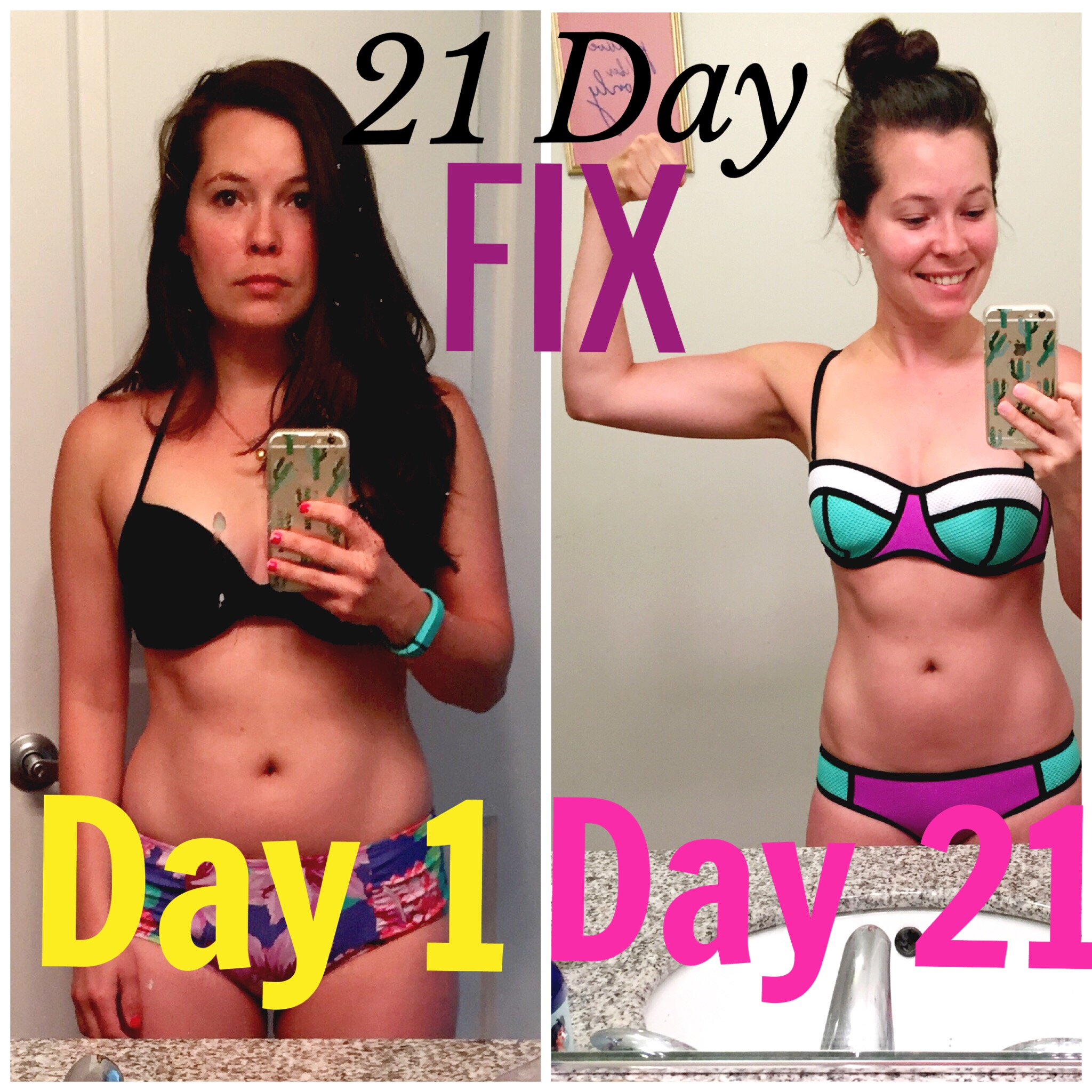 kat 21 day fix before and after